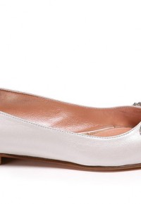 liana-ivory pearlised-leather-butterfly-ballerina-side-view