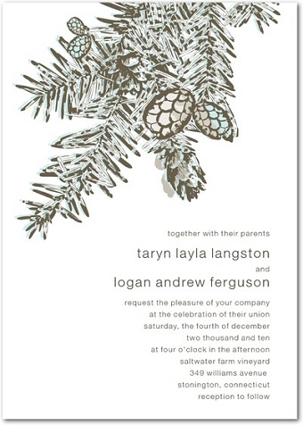 winter_weddings__pinecone_wedding_invitations_wedding_paper_divas_blog
